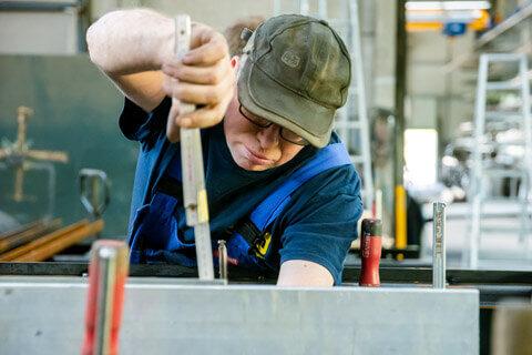 Abteilung Fahrzeugbau Mitarbeiterfoto 2
